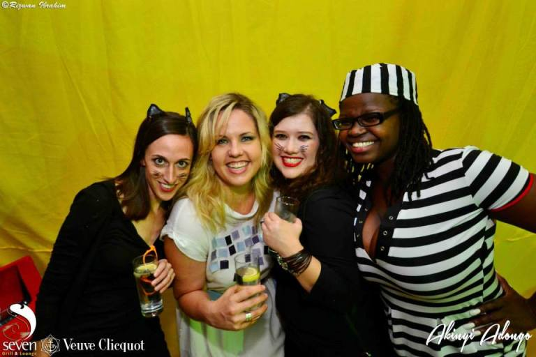 119 Akinyi Adongo Halloween Yelloween Party Veuve Clicquot Nairobi