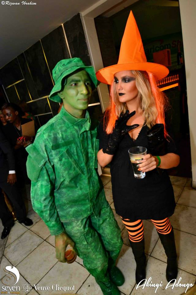 120 Akinyi Adongo Halloween Yelloween Party Veuve Clicquot Nairobi
