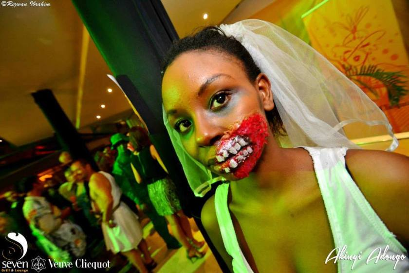 121 Akinyi Adongo Halloween Yelloween Party Veuve Clicquot Nairobi
