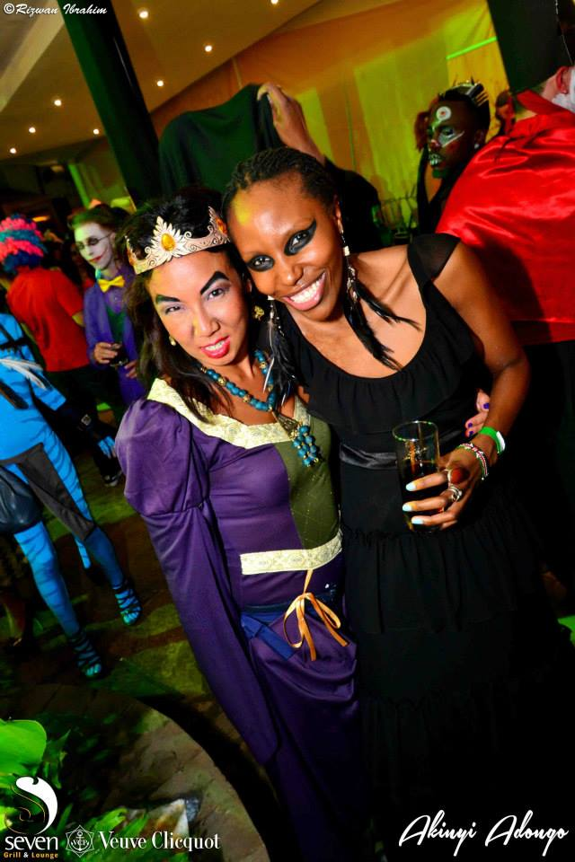 122 Akinyi Adongo Halloween Yelloween Party Veuve Clicquot Nairobi