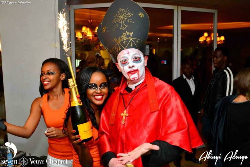 127 Akinyi Adongo Halloween Yelloween Party Veuve Clicquot Nairobi