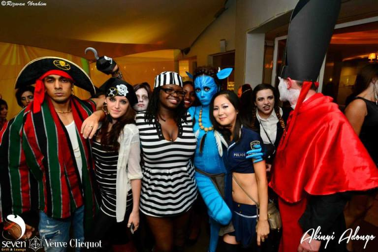 13 Akinyi Adongo Halloween Yelloween Party Veuve Clicquot Nairobi