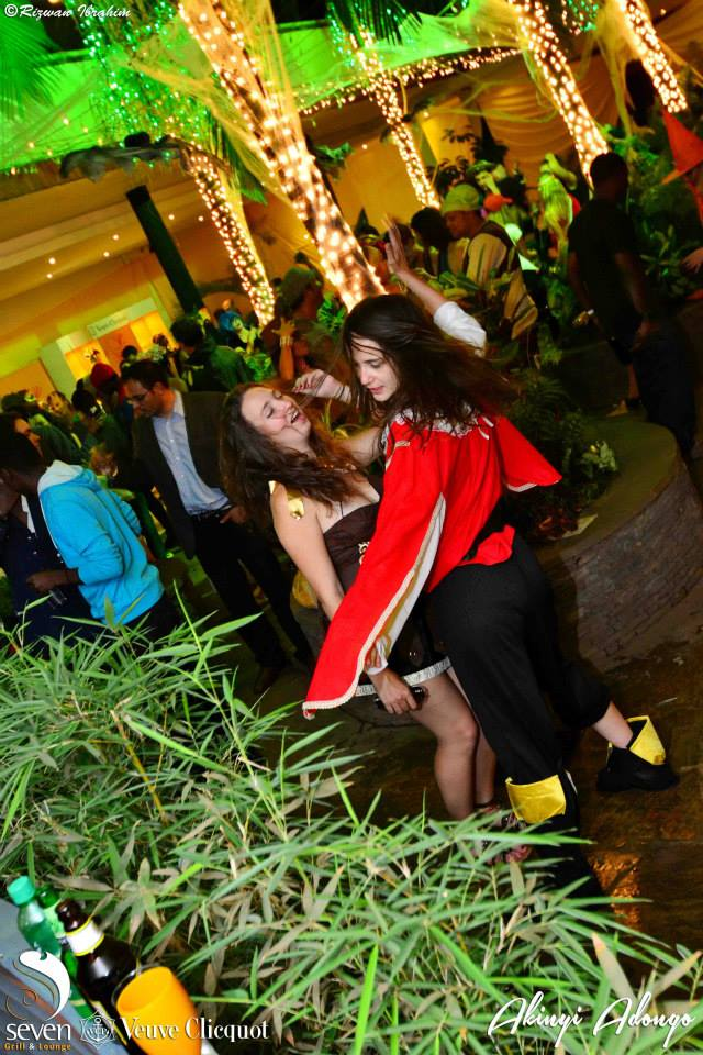 130 Akinyi Adongo Halloween Yelloween Party Veuve Clicquot Nairobi