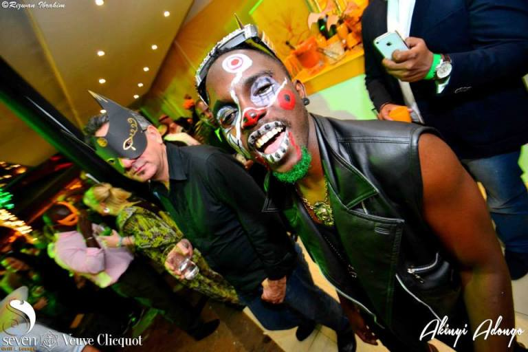 132 Akinyi Adongo Halloween Yelloween Party Veuve Clicquot Nairobi