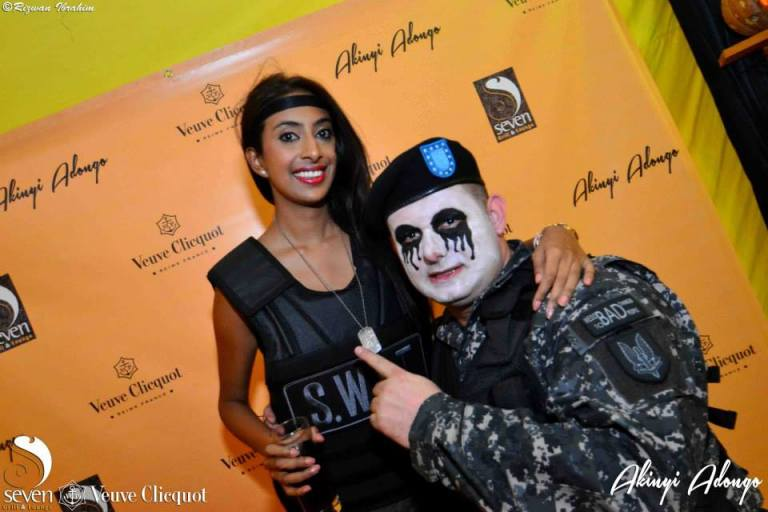 134 Akinyi Adongo Halloween Yelloween Party Veuve Clicquot Nairobi
