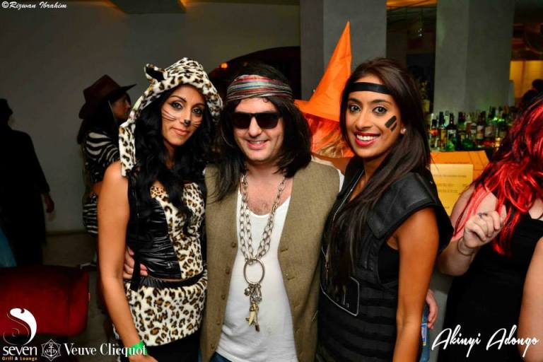 141 Akinyi Adongo Halloween Yelloween Party Veuve Clicquot Nairobi