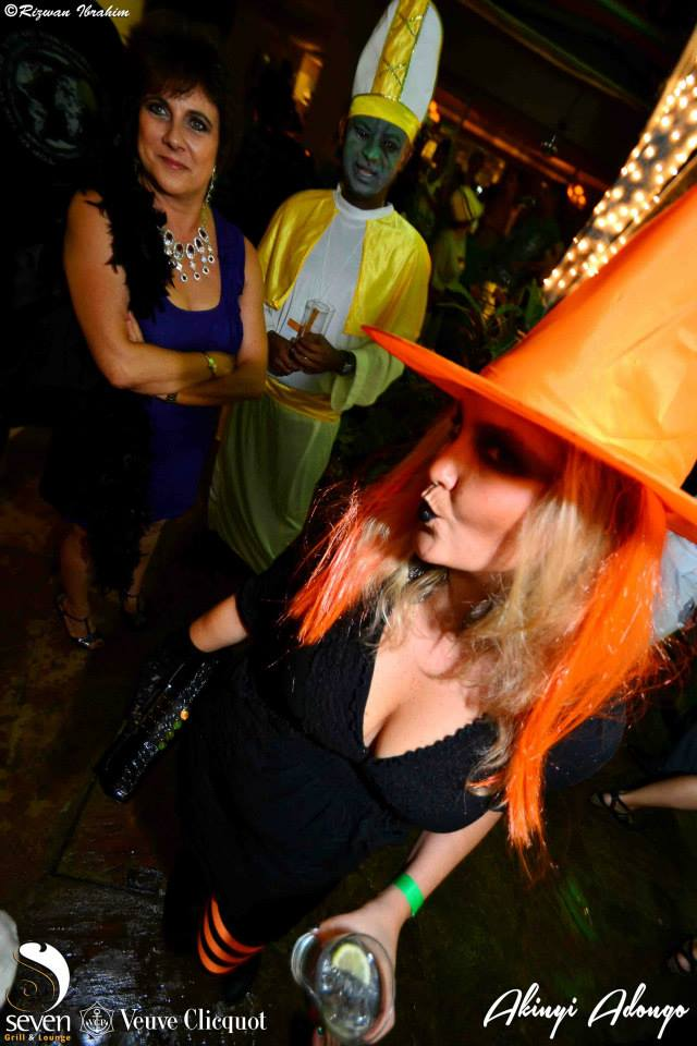 142 Akinyi Adongo Halloween Yelloween Party Veuve Clicquot Nairobi