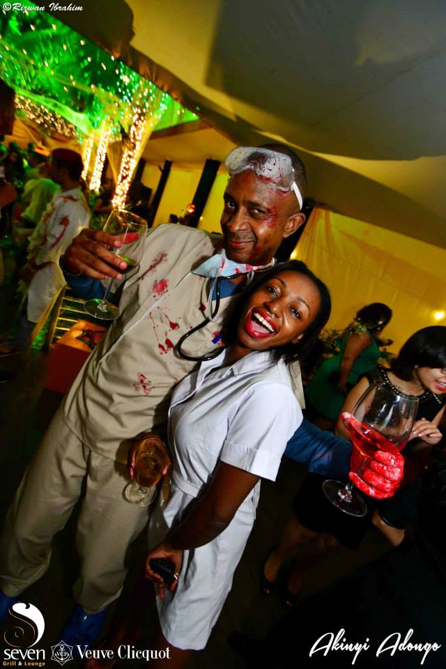 149 Akinyi Adongo Halloween Yelloween Party Veuve Clicquot Nairobi