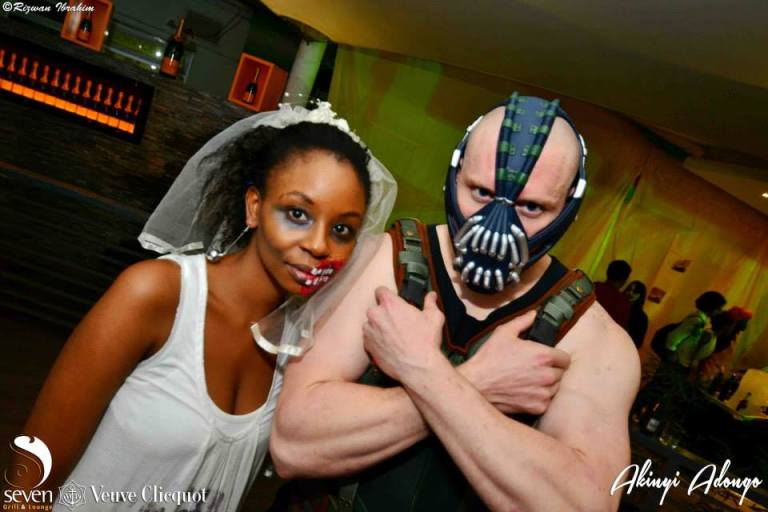 159 Akinyi Adongo Halloween Yelloween Party Veuve Clicquot Nairobi
