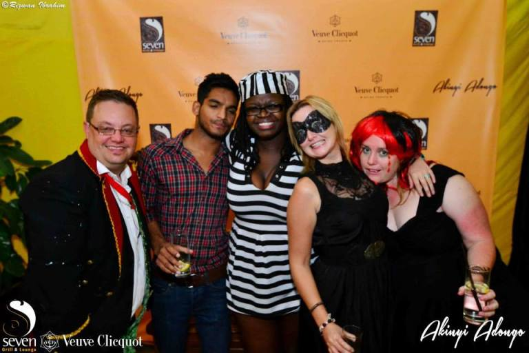 160 Akinyi Adongo Halloween Yelloween Party Veuve Clicquot Nairobi