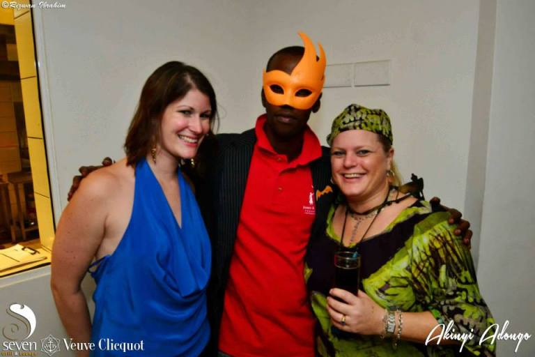 162 Akinyi Adongo Halloween Yelloween Party Veuve Clicquot Nairobi