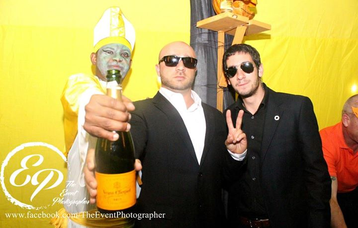 165 Akinyi Adongo Halloween Yelloween Party Veuve Clicquot Nairobi