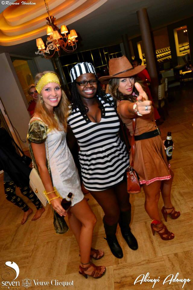 167 Akinyi Adongo Halloween Yelloween Party Veuve Clicquot Nairobi
