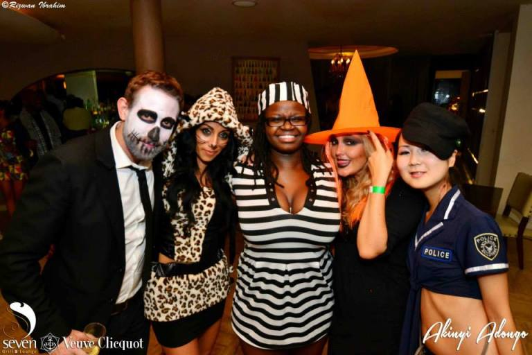 168 Akinyi Adongo Halloween Yelloween Party Veuve Clicquot Nairobi