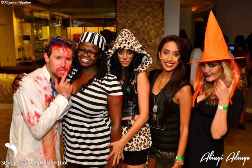 169 Akinyi Adongo Halloween Yelloween Party Veuve Clicquot Nairobi