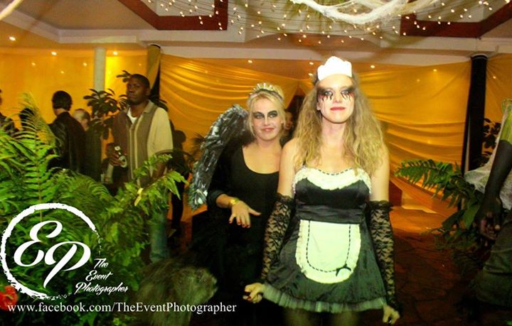 170 Akinyi Adongo Halloween Yelloween Party Veuve Clicquot Nairobi