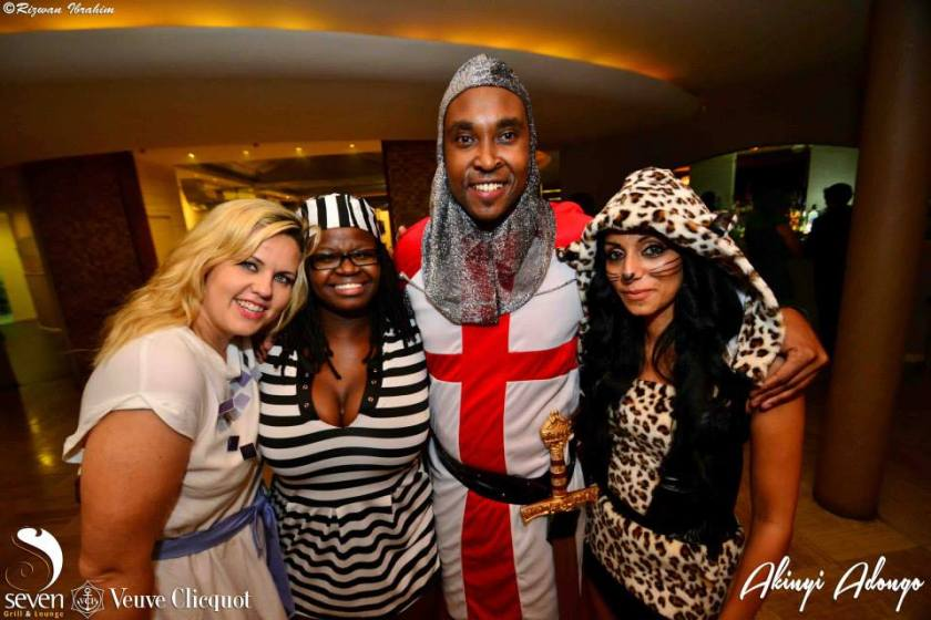172 Akinyi Adongo Halloween Yelloween Party Veuve Clicquot Nairobi