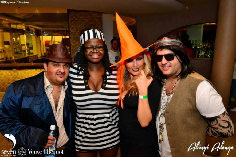 175 Akinyi Adongo Halloween Yelloween Party Veuve Clicquot Nairobi