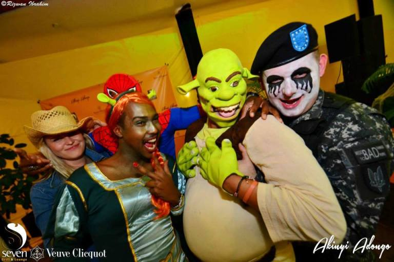 177 Akinyi Adongo Halloween Yelloween Party Veuve Clicquot Nairobi