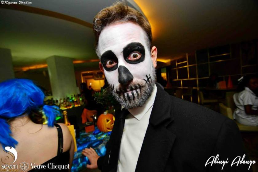 18 Akinyi Adongo Halloween Yelloween Party Veuve Clicquot Nairobi