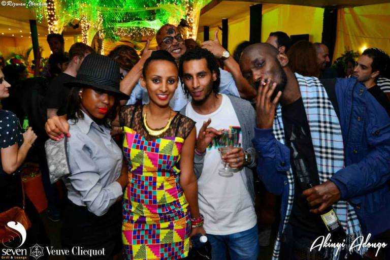 181 Akinyi Adongo Halloween Yelloween Party Veuve Clicquot Nairobi