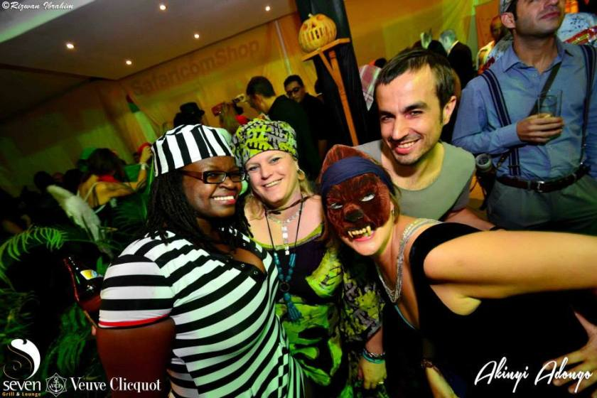 183 Akinyi Adongo Halloween Yelloween Party Veuve Clicquot Nairobi