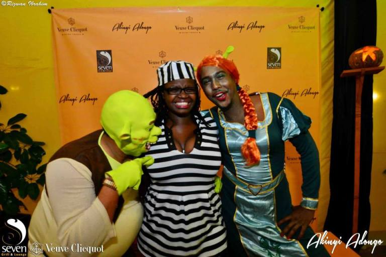 190 Akinyi Adongo Halloween Yelloween Party Veuve Clicquot Nairobi
