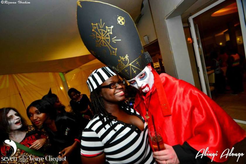 191 Akinyi Adongo Halloween Yelloween Party Veuve Clicquot Nairobi