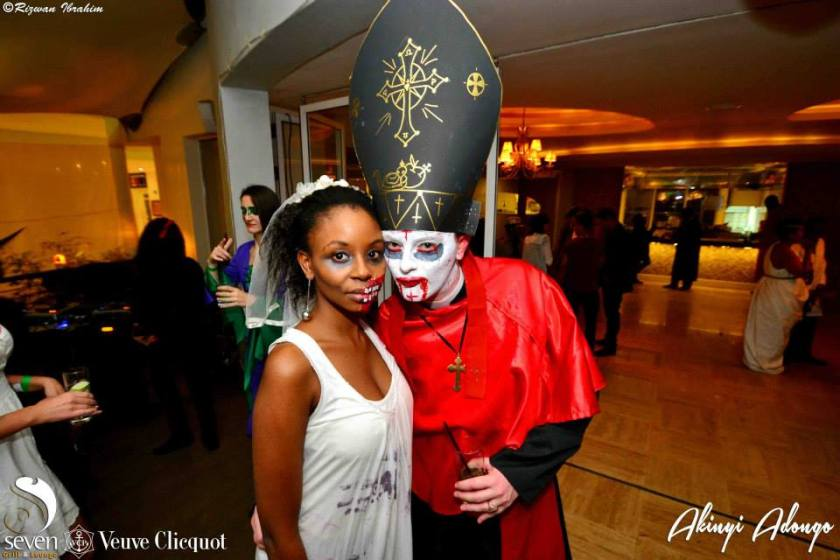 195 Akinyi Adongo Halloween Yelloween Party Veuve Clicquot Nairobi