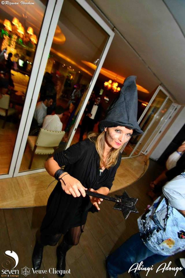 201 Akinyi Adongo Halloween Yelloween Party Veuve Clicquot Nairobi