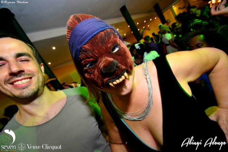 203 Akinyi Adongo Halloween Yelloween Party Veuve Clicquot Nairobi