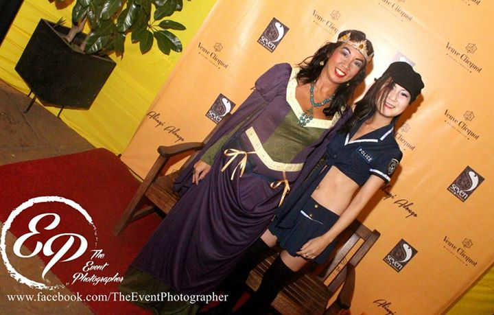 208 Akinyi Adongo Halloween Yelloween Party Veuve Clicquot Nairobi
