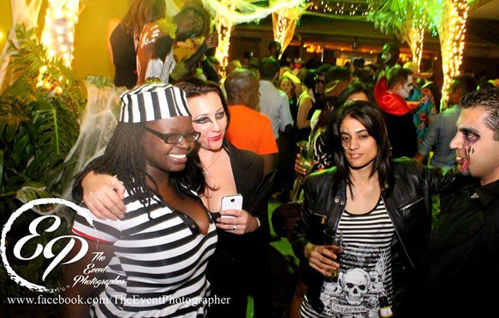 218 Akinyi Adongo Halloween Yelloween Party Veuve Clicquot Nairobi