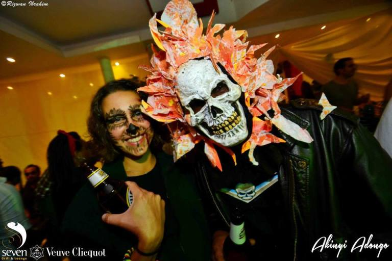 22 Akinyi Adongo Halloween Yelloween Party Veuve Clicquot Nairobi