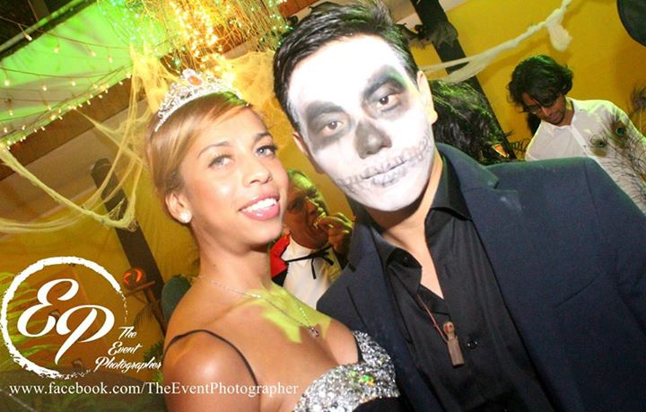 223 Akinyi Adongo Halloween Yelloween Party Veuve Clicquot Nairobi