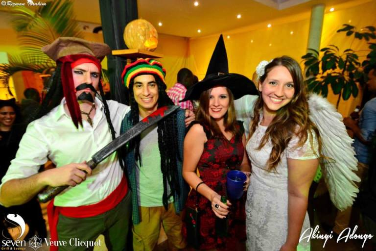 26 Akinyi Adongo Halloween Yelloween Party Veuve Clicquot Nairobi