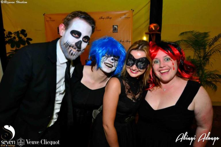 29 Akinyi Adongo Halloween Yelloween Party Veuve Clicquot Nairobi