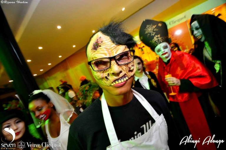 3 Akinyi Adongo Halloween Yelloween Party Veuve Clicquot Nairobi