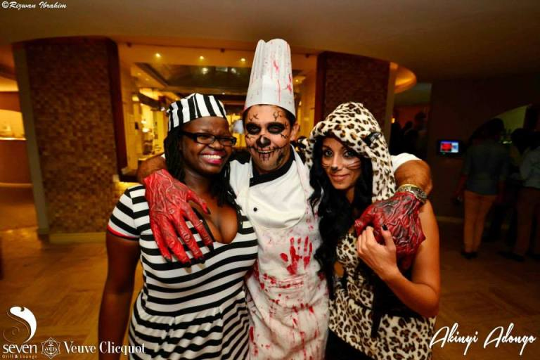 31 Akinyi Adongo Halloween Yelloween Party Veuve Clicquot Nairobi