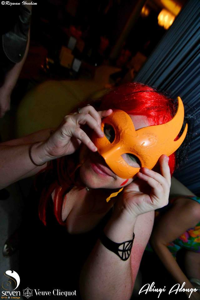 32 Akinyi Adongo Halloween Yelloween Party Veuve Clicquot Nairobi
