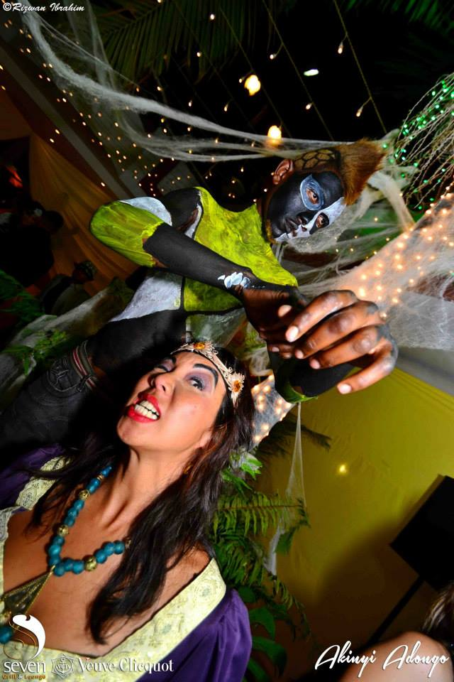 34 Akinyi Adongo Halloween Yelloween Party Veuve Clicquot Nairobi