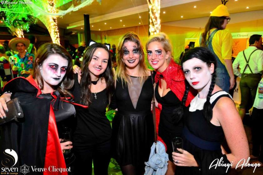 36 Akinyi Adongo Halloween Yelloween Party Veuve Clicquot Nairobi