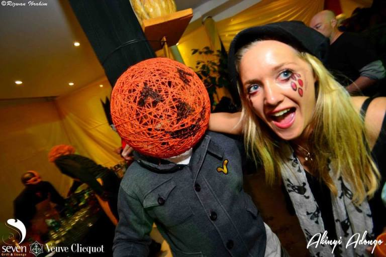 38 Akinyi Adongo Halloween Yelloween Party Veuve Clicquot Nairobi