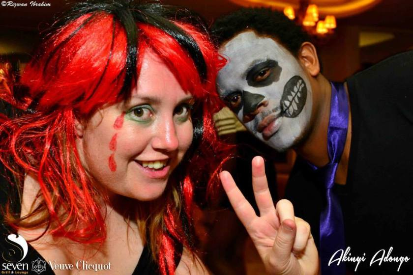 40 Akinyi Adongo Halloween Yelloween Party Veuve Clicquot Nairobi