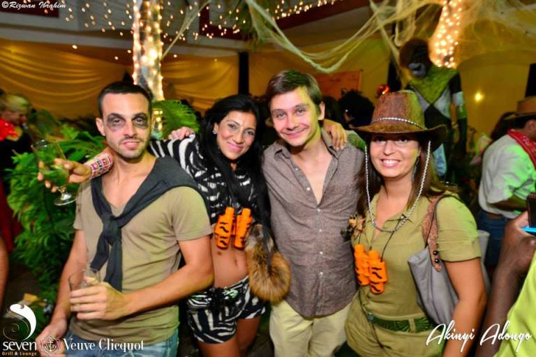 41 Akinyi Adongo Halloween Yelloween Party Veuve Clicquot Nairobi