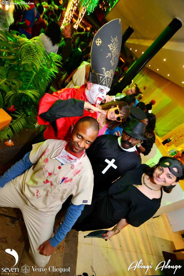 47 Akinyi Adongo Halloween Yelloween Party Veuve Clicquot Nairobi