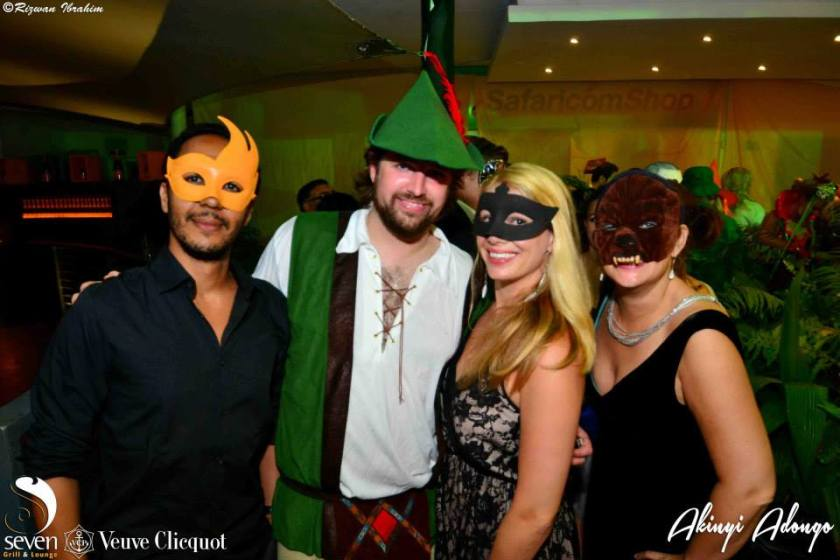 49 Akinyi Adongo Halloween Yelloween Party Veuve Clicquot Nairobi