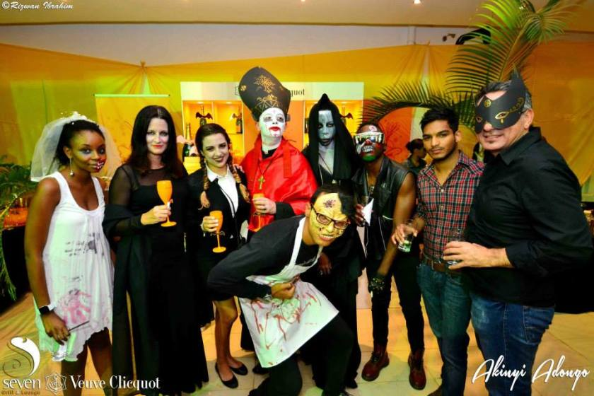 50 Akinyi Adongo Halloween Yelloween Party Veuve Clicquot Nairobi
