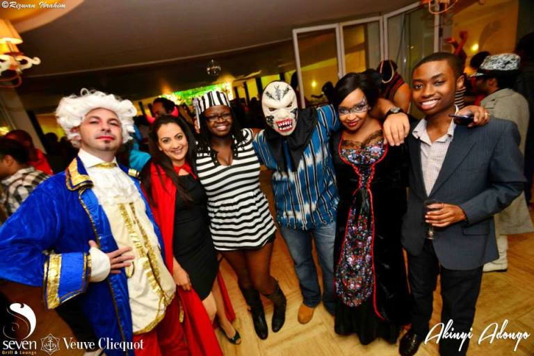 51 Akinyi Adongo Halloween Yelloween Party Veuve Clicquot Nairobi