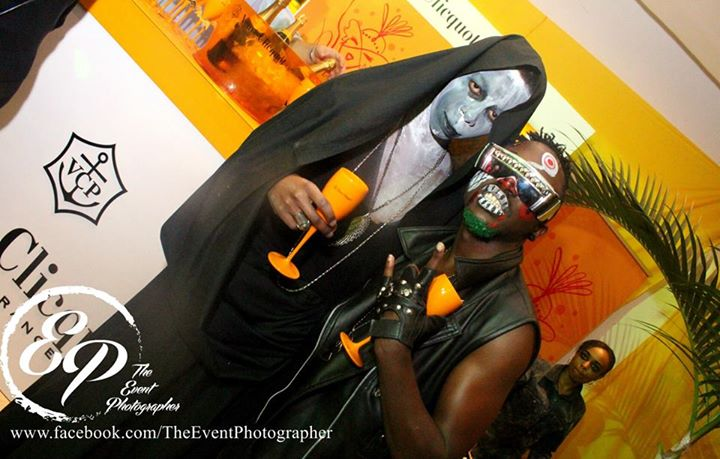 52 Akinyi Adongo Halloween Yelloween Party Veuve Clicquot Nairobi